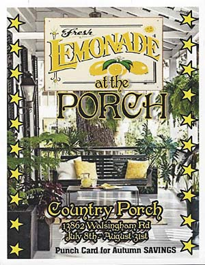 Fresh Lemonade At The Country Porch Provence Art Antiques